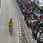 A bicicleta e a loucura do trânsito nos grandes centros urbanos