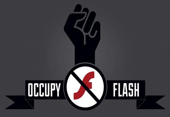 Movimento Occupy Flash