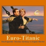 Humor: transatlântico Euro-Titanic navega rumo ao inevitável destino