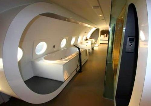 Hotel em Jumbo 747