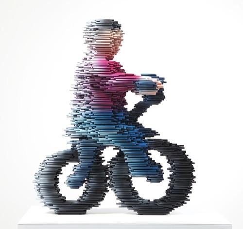 Bike - tubos de PVC
