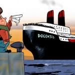 Professores de Portugal indignados com governo: Emigra Tu!
