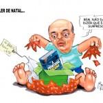 José Serra ganha presente do povo: o livro A Privataria Tucana