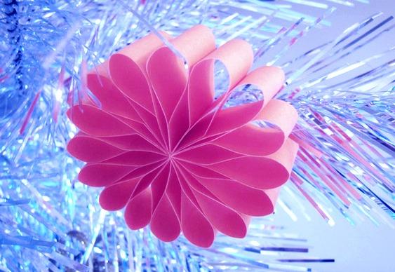 Enfeite De Papel ~ Enfeites de flores de papel reciclado para a suaárvore de Natal u2013 Matéria Incógnita u2013 Inovaç u00e3o