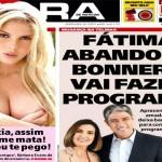 Jornal faz zoação com Fátima Bernardes e William Bonner