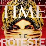 Revista Time elege O Manifestante como personalidade do ano em 2011