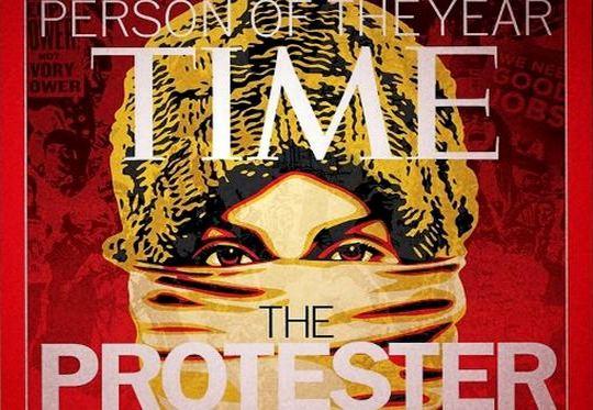 Manifestantes e Indignados 2011
