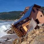 A subida do nível do mar nas praias do litoral norte de São Paulo