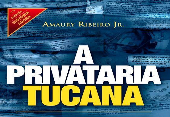 Livro de Amaury Ribeiro Jr.