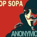 Cartoon genial com o espírito da luta contra as leis SOPA e PIPA
