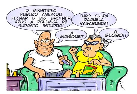 Charge Big Brother Brasil