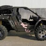 BXR5 500 cc da Dasy: um buggy com pinta de jeep militar