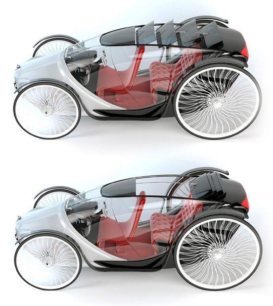 Carruagem conceito Bugre