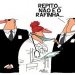 Charge: proteção a Wanessa Camargo contra Rafinha Bastos
