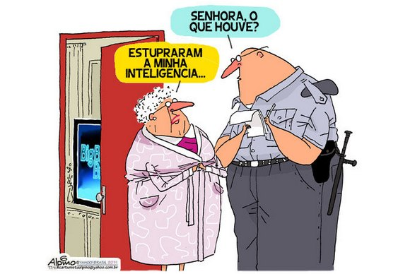 Charge - estupro no BBB12