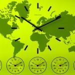 Como seria o mundo com todos os relógios marcando a mesma hora
