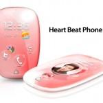 Batidas do coração nas chamadas de telefones celulares