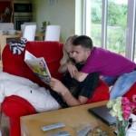 Ilusão de ótica e de quem manda em casa: o homem ou a mulher?