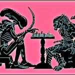 Alien x Predador – a 'mãe de todas as batalhas' do Xadrez