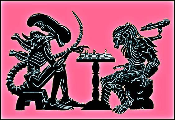 Alien versus Predador - Xadrez