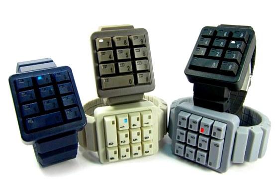 Relógio de pulso KeyPad