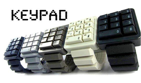 Relógios de pulso KeyPad