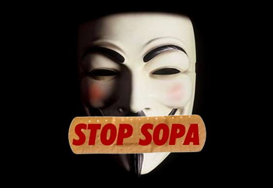 STOP SOPA ANONYMOUS