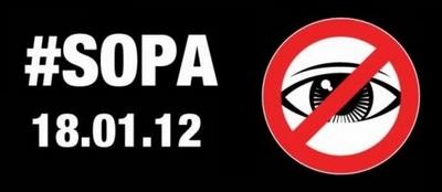 Greve contra SOPA e PIPA