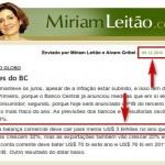 As previsões furadas de apocalipse econômico de Miriam Leitão
