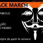 Anonymous golpeia copyright com Operação Março Negro