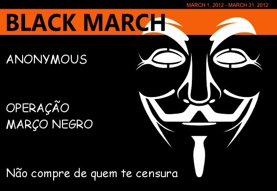 Anonymous - Black March Marzo Negro