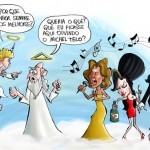 Michel Teló gruda mais que Chiclete com Banana no Carnaval