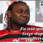 Por bizarrice de gol perdido Deivid do Flamengo ganha fama mundial