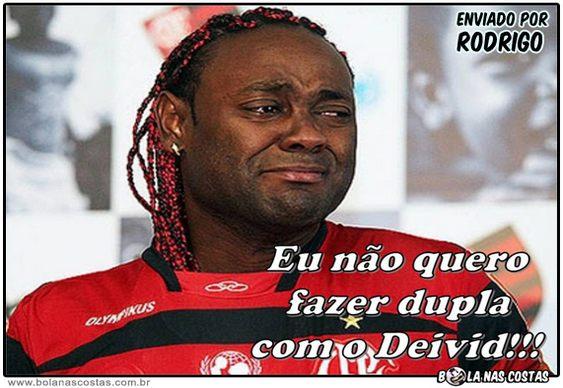 Vagner Love chora gol perdido por Deivid