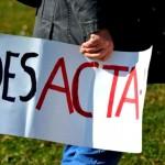 Encurralado, defensor do ACTA tenta desmobilizar protestos