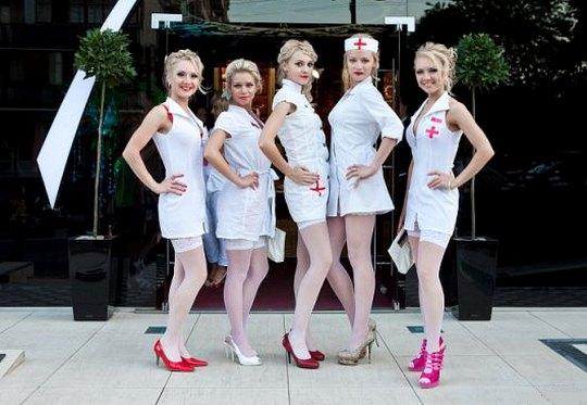 Fetiche com enfermeiras