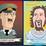 Por que o conservador é burro e o progressista inteligente?