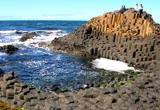 Giant's Causeway na Irlanda do Norte