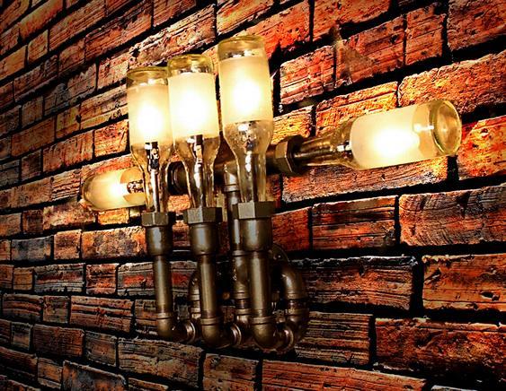 Decoração de bar - luminária