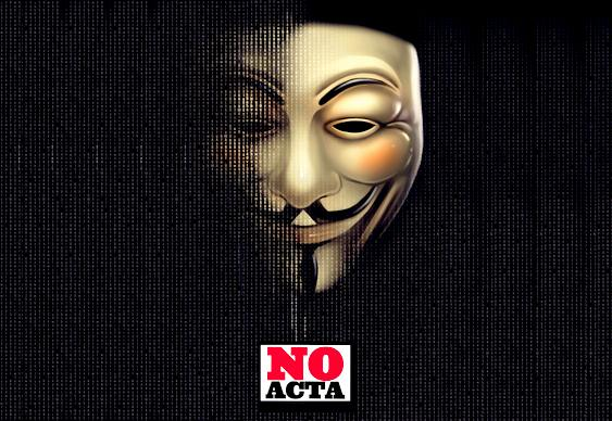 Anonymous - No to ACTA