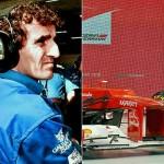 Novo carro da Ferrari tem nariz igual ao do Alain Prost