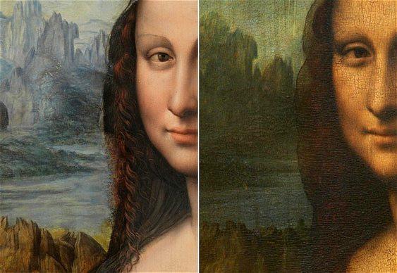 Cópia da Monalisa de Da Vinci