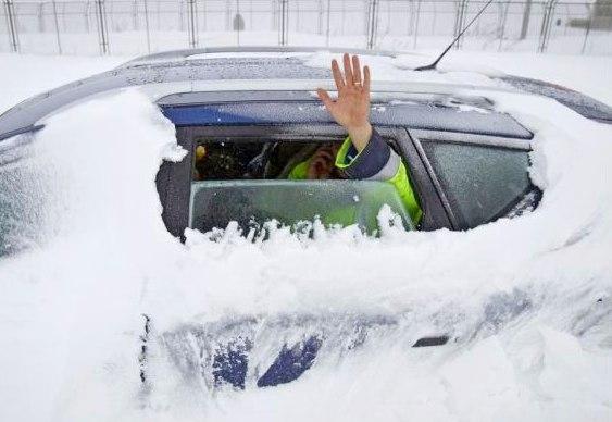 Neve em países da Europa