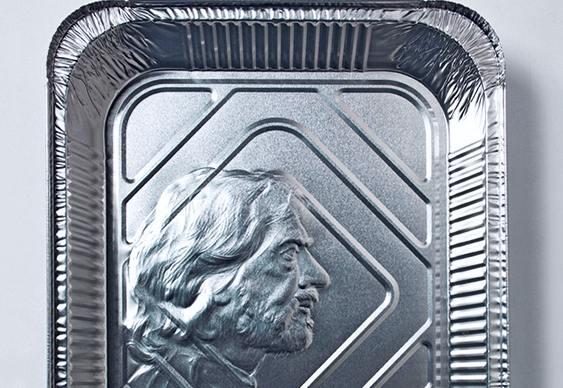Faces e perfis em embalagens de alumínio