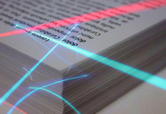 Reutilização de papel impresso