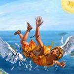 Vídeo fake do homem-pássaro voando com asas no YouTube