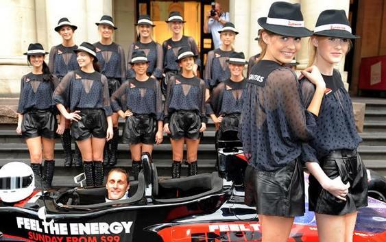 Garotas do Grid F1 Austrália