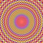 Uma ilusão de ótica estática que não para de se mexer