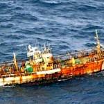 Navio fantasma levado por tsunami chega à América do Norte