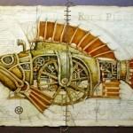 Meio bicho e máquina: peixes, aves e outros animais steampunk